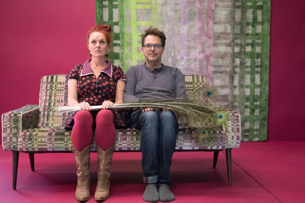 Ron Greve en Ingrid van der veen