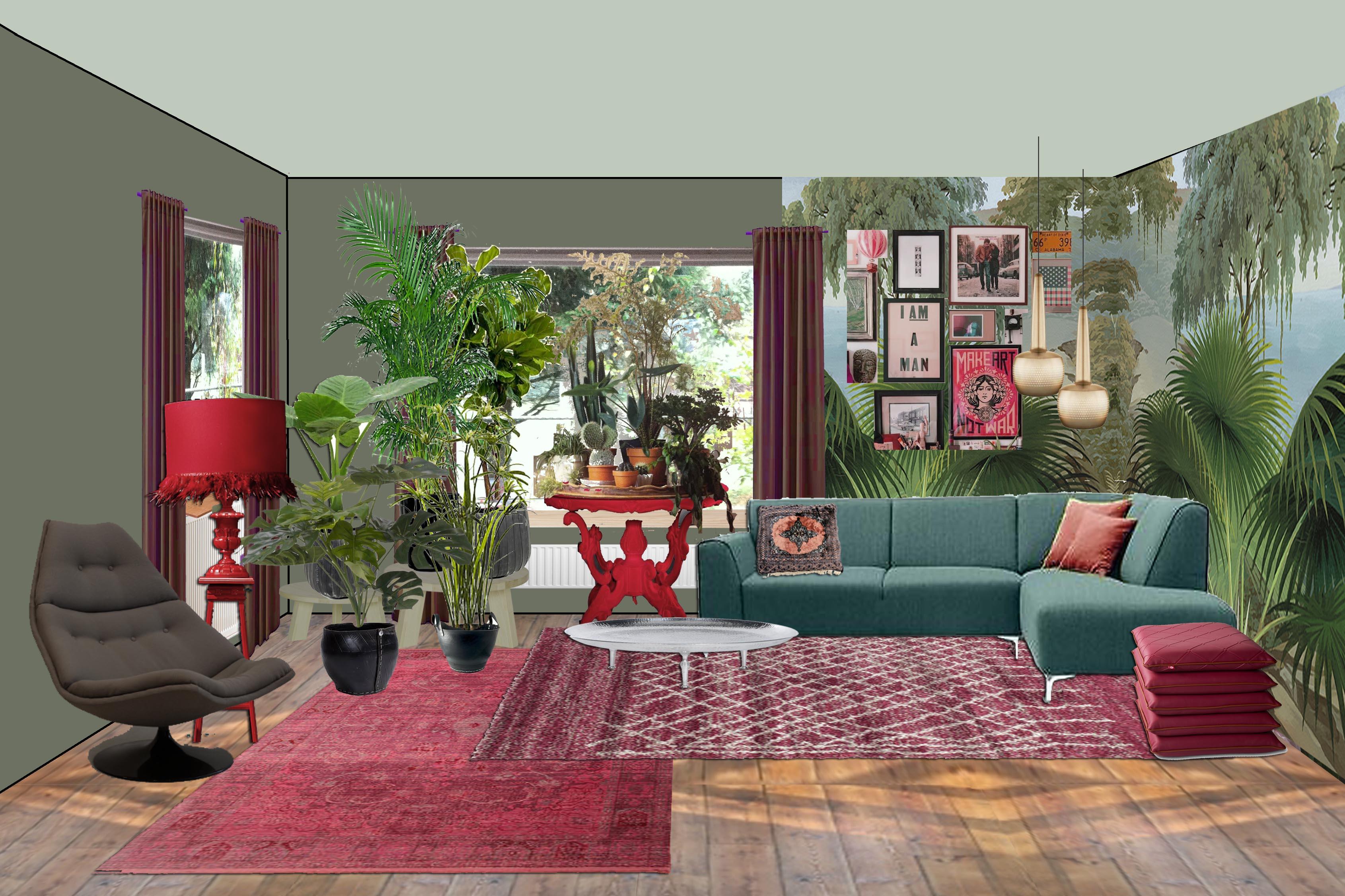 felle kleuren in je interieur, zonder dat je knetter wordt, Deco ideeën