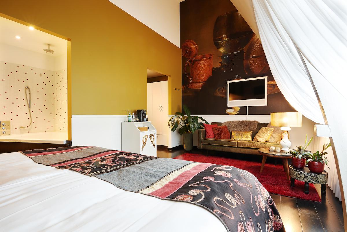 interieurontwerp Librije's hotel thema Rijksmuseum