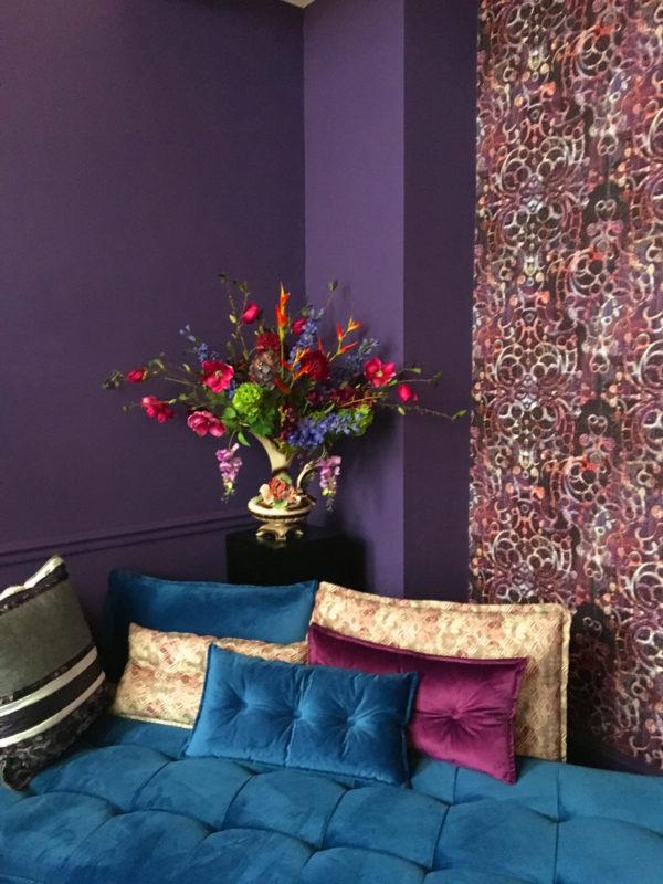 Planten in je hotelinterieur - zijdebloemen boeket