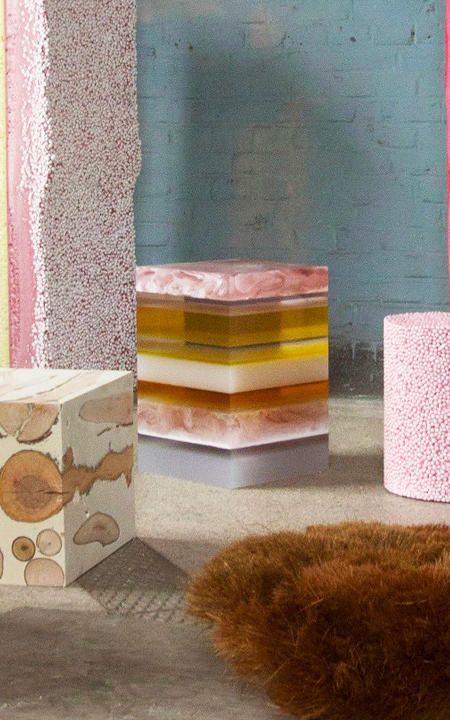 Een Eclectic Chic interieur met bijzondere meubels