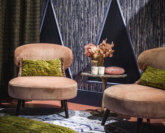 Luxe interieur designer voor particuliere woningen, hotels en restaurants