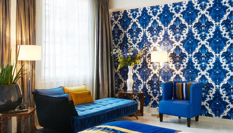 Boutique Hotel interieur ontwerp voor De Librije door Ingrid van der Veen