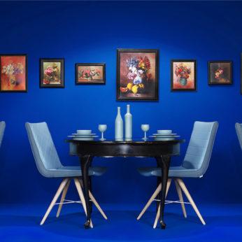 Luxe interieur ontwerp blue restaurant design 2