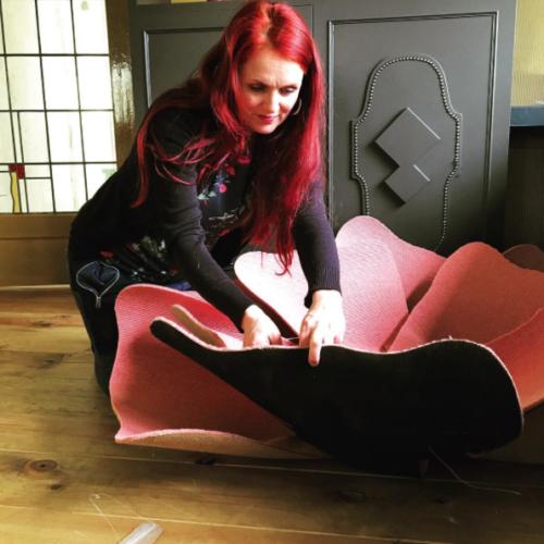 Hotel interieur designer Ingrid van der Veen
