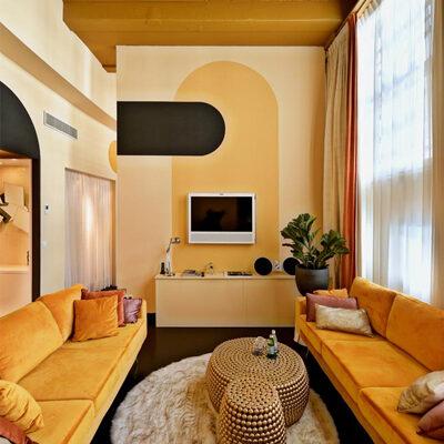 boutiek hotel interieur design Librije Bubbels