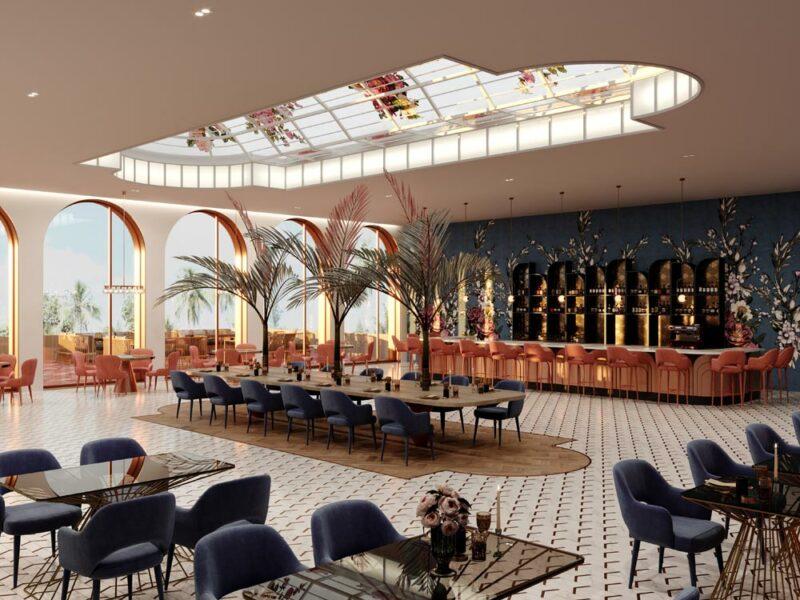 luxe interieur design restaurant mediterrane restaurant