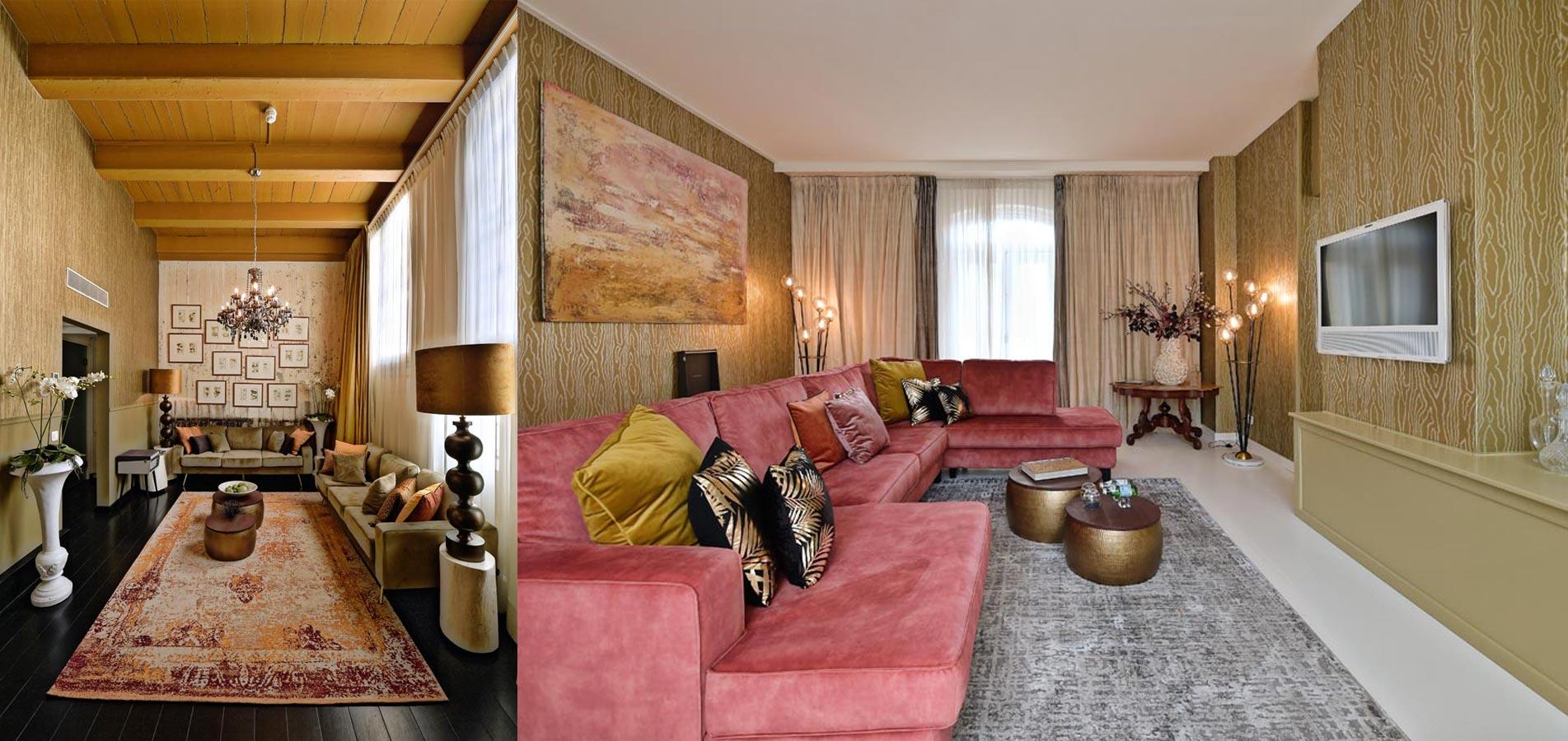 luxe villa interieur design