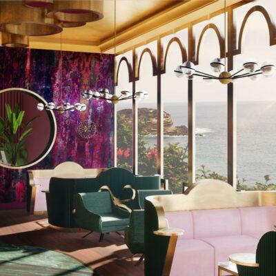 Hotel lobby concept ontwerp door Ingrid van der Veen