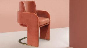 exclusive-design-furniture-orange chair