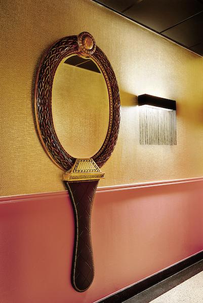 spiegel boutique stijl