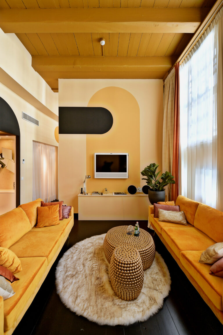 boutique chic interieur woonkamer