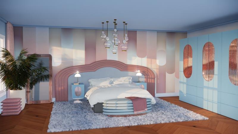 Hoe kies ik kleur voor mijn interieur blauwe slaapkamer